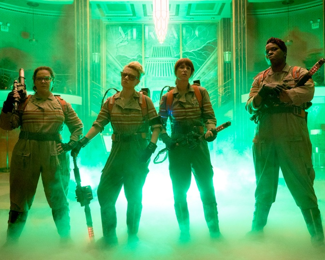 THE FILM DOPES REVIEW! – GHOSTBUSTERS (2016)