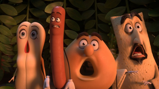 THE FILM DOPES REVIEW! – SAUSAGE PARTY